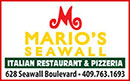 Mario's on the Seawall