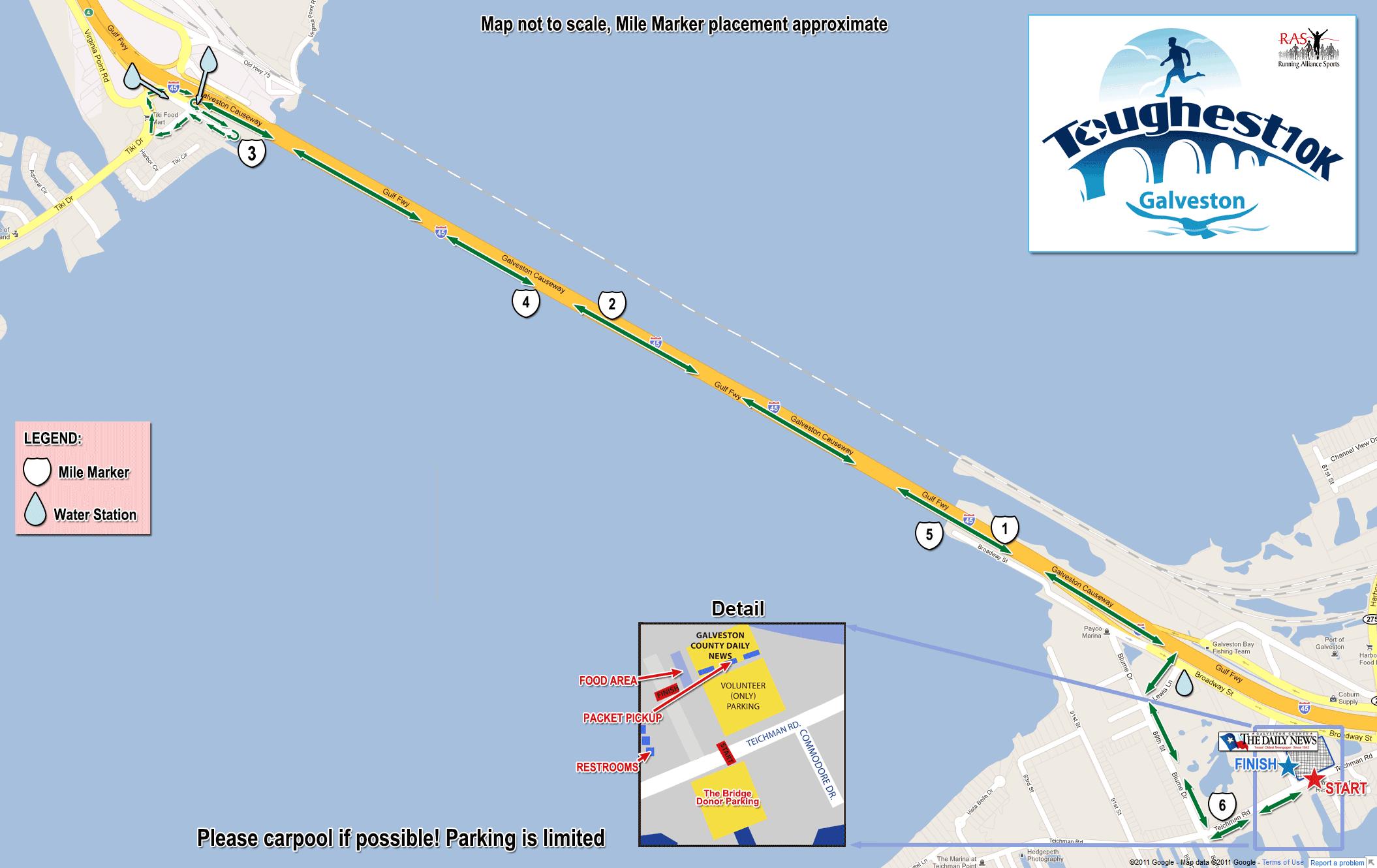 The Toughest 10K Galveston